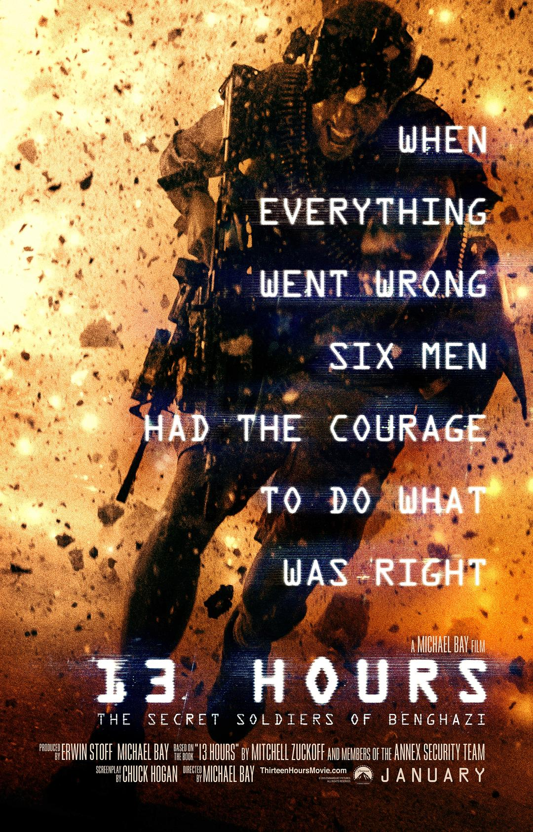 危机13小时13 Hours The Secret Soldiers Of Benghazi 2016 2160p BluRay
